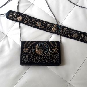Vintage purse and belt
